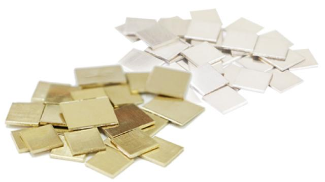 石福金属の金合金製品