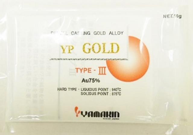 YP GOLD タイプⅢ
